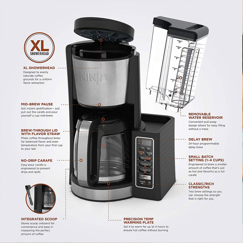 Ninja 12 Cup Coffee Maker
